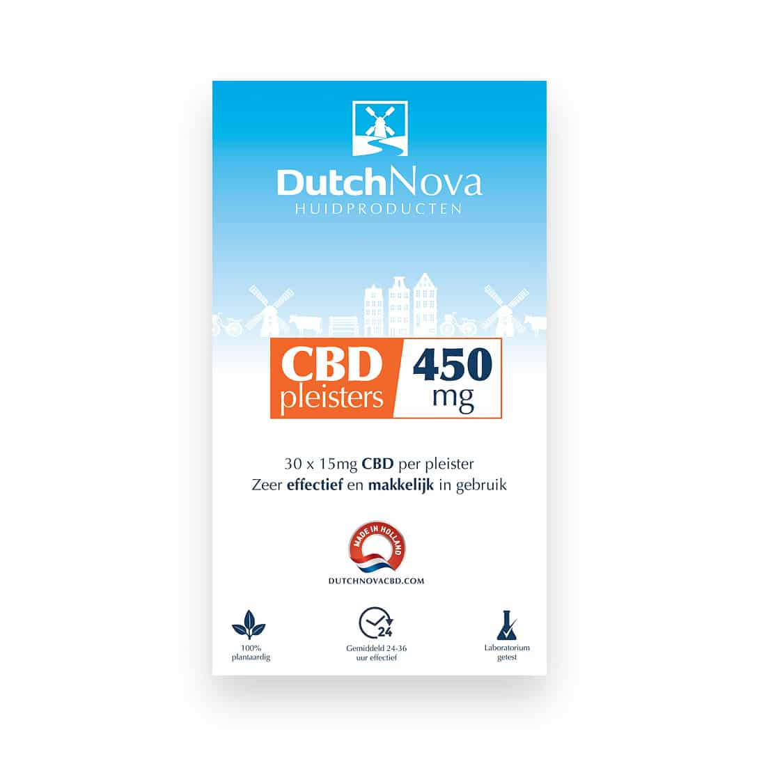 CBD Pleisters 450mg – 30 X 15mg Cannabidiol